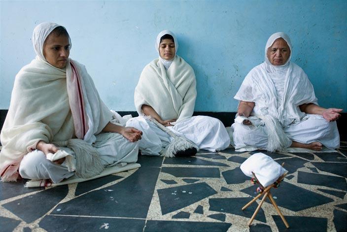 Jainism religion meditation