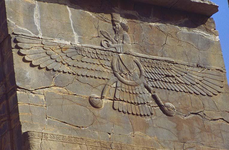 Zoroastrianism god