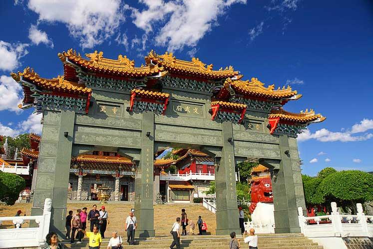 Taoism beliefs wen wu temple